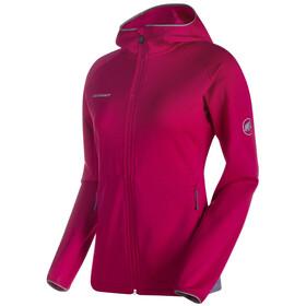 Mammut Get Away ML Hooded Jacket Women magenta melange